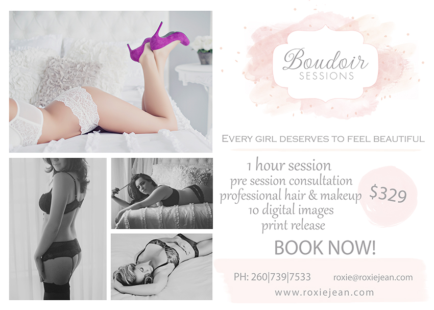 Boudoir Marketing Card Blog