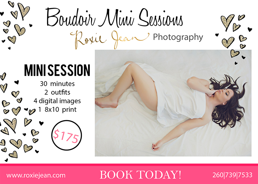 Valentine S Day Boudoir Mini Sessions Fort Wayne Indiana Boudoir